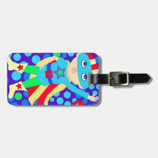 Super Hero  Kid Tag For Bags