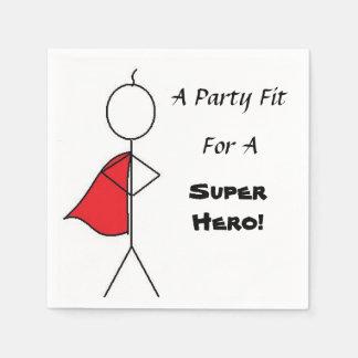 Super Hero Kid's Pary Napkins