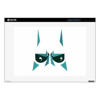 super hero mask laptop decals