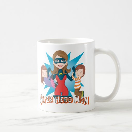 Super Hero Mom Coffee Mug