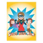 Super Hero Mom Post Card