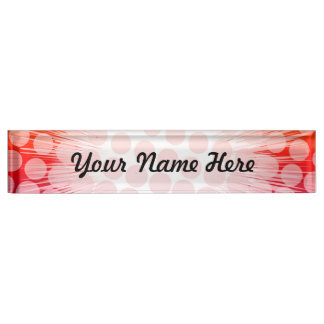 Super Hero Pop Art Purple Name Plate