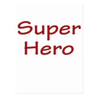 Super Hero Postcard