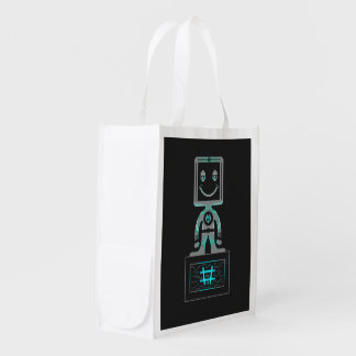 #Super Hero Reusable Grocery Bag
