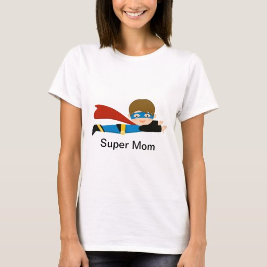 Super Hero Shirt For a Super Mom