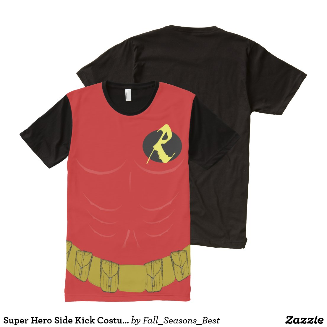 Super Hero Side Kick Costume All-Over-Print T-Shirt