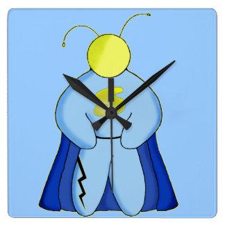 Super Hero Square Wall Clock