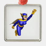 Super Hero Woman Christmas Ornament