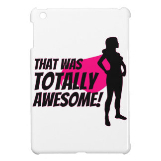 Super Hero Woman Power iPad Mini Cover