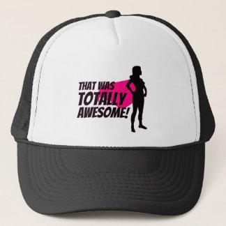 Super Hero Woman Power Trucker Hat