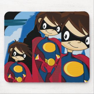 Super héroe adolescente Mousepad Alfombrillas De Ratones