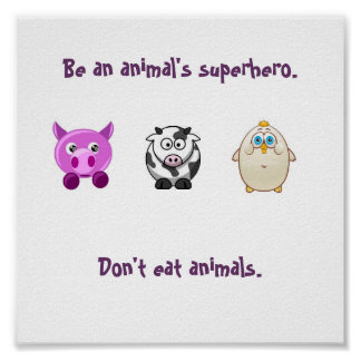 Super héroe animal posters
