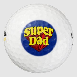 Super héroe azul amarillo rojo del día de padre