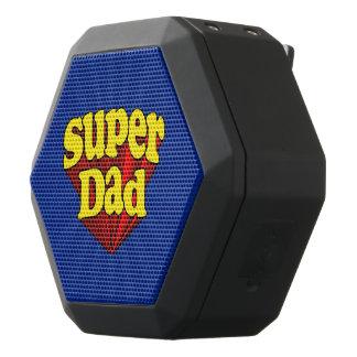 Super héroe azul amarillo rojo del día de padre altavoces bluetooth negros boombot REX