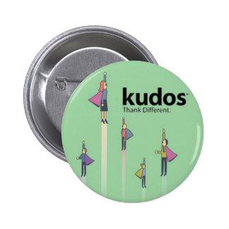 Super héroe de Kudos® Pin Redondo 5 Cm