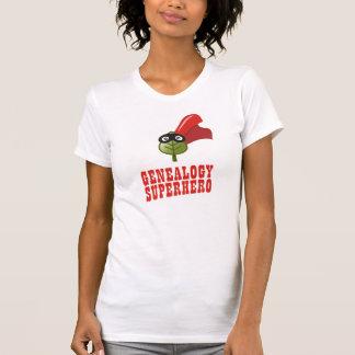 Super héroe de la genealogía camisetas