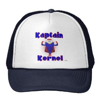 Super héroe de las palomitas del corazón de Kaptai Gorras