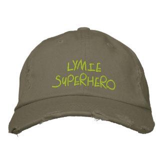 Super héroe de Lymie Gorras Bordadas