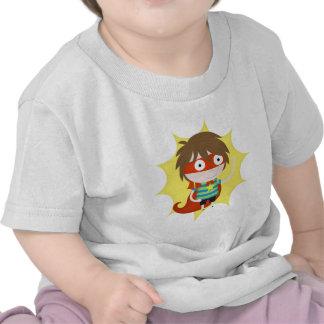 Super héroe futuro camisetas