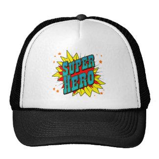 Super héroe gorras de camionero