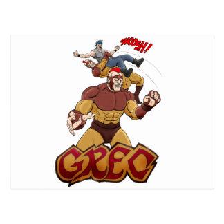 Super héroe Grec del Muttahida Majlis-E-Amal Tarjetas Postales
