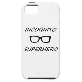 Super héroe incógnito 01B iPhone 5 Cárcasa