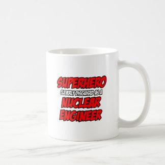 Super héroe Ingeniero nuclear Taza De Café