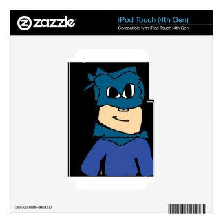 super heroe iPod touch 4G skins