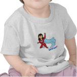Super héroe - medio camisetas
