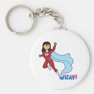 Super héroe - medio llaveros personalizados