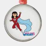 Super héroe - medio ornamentos para reyes magos