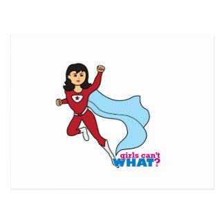 Super héroe - medio tarjeta postal