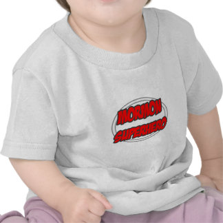 Super héroe mormón camisetas