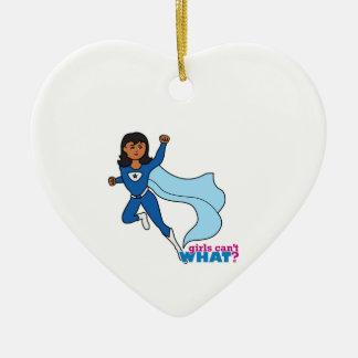 Super héroe - oscuridad adorno de navidad