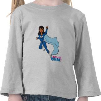 Super héroe - oscuridad camisetas