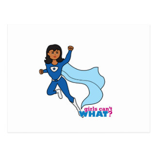 Super héroe - oscuridad tarjeta postal