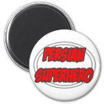 Super héroe persa imán para frigorifico
