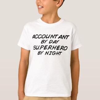 Super héroe por noche - contable playeras