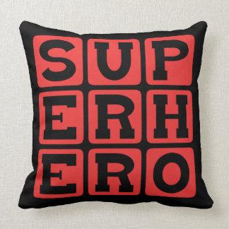 Super héroe, protagonista del cómic cojín