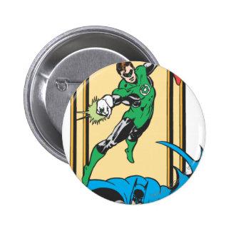 Super héroes en la acción pin