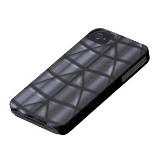 Super héroes - negro Case-Mate iPhone 4 protectores