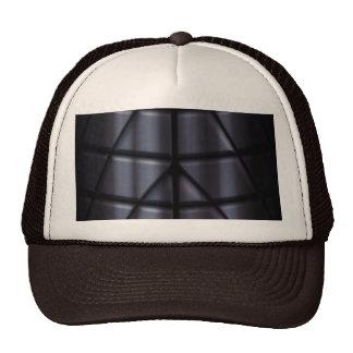 Super héroes - negro gorras