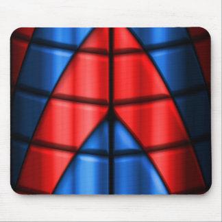 Super héroes - rojo y azul mousepad