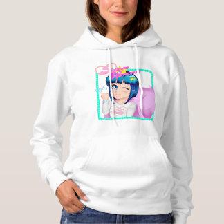 Super Heroine Fight Hooded Sweatshirt