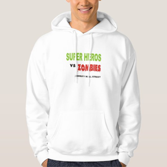 Super Heros Vs. Zombies ZOMBIE RESPONSE TEAM Hoodie