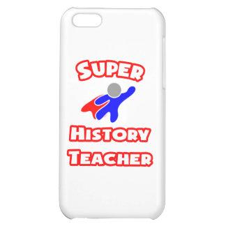 Super History Teacher iPhone 5C Cases