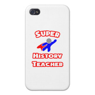 Super History Teacher Cover For iPhone 4