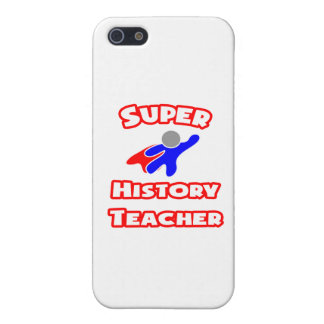 Super History Teacher Cases For iPhone 5