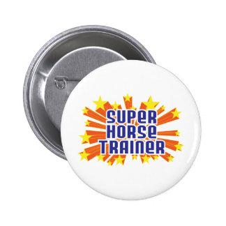 Super Horse Trainer Pinback Button