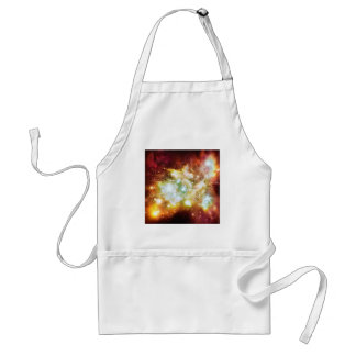 Super Hot and Bright Lynx Arc Star Cluster Adult Apron